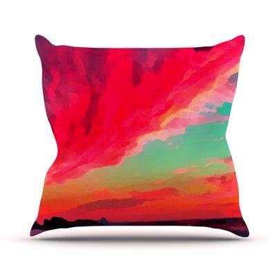 Apetto Allalba by Oriana Cordero Throw Pillow Size: 26 H x 26 W x 5 D