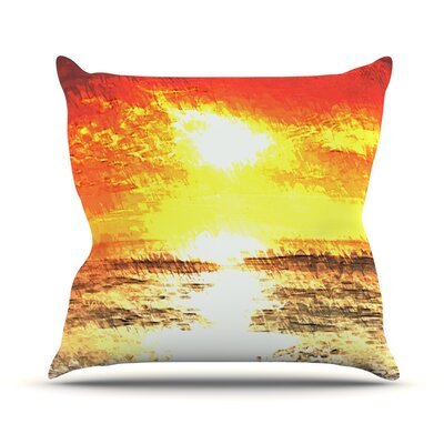 Riviera by Oriana Cordero Throw Pillow Size: 26 H x 26 W x 5 D