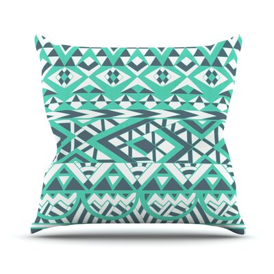 Tribal Simplicity by Pom Graphic Throw Pillow Size: 18 H x 18 W x 3 D