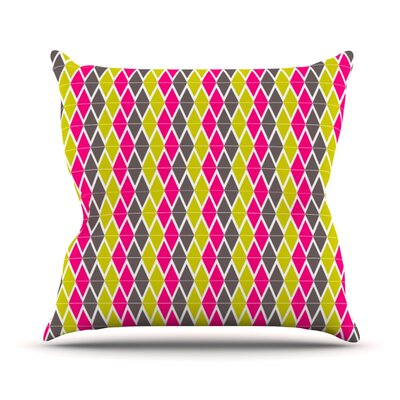 Bohemian by Nandita Singh Throw Pillow Size: 20 H x 20 W x 4 D