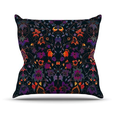 Bali Tapestry by Nikki Strange Throw Pillow Size: 18 H x 18 W x 3 D