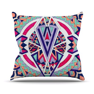 Abstract Journey by Pom Graphic Tribal Throw Pillow Size: 18 H x 18 W x 3 D