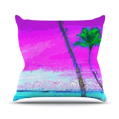 Caribe S by Oriana Cordero Throw Pillow Size: 16 H x 16 W x 3 D