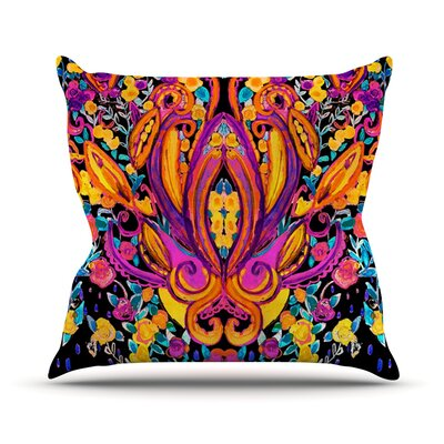 Paisley Garden by Nikki Strange Wam Throw Pillow Size: 18 H x 18 W x 3 D