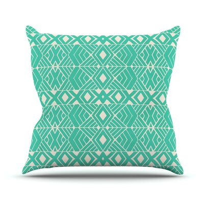 Going Native by Pom Graphic Throw Pillow Size: 18 H x 18 W x 3 D
