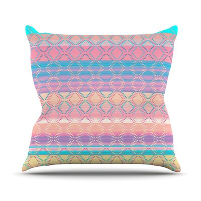 Denin and Diam New Mexico by Nina May Pastel Throw Pillow Size: 18 H x 18 W x 3 D
