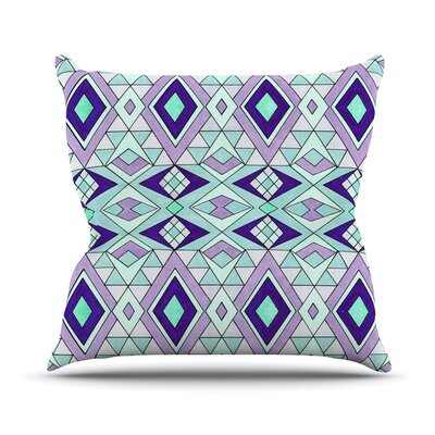 Gems by Pom Graphic Throw Pillow Size: 18 H x 18 W x 3 D