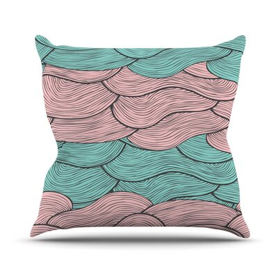Summerlicious by Pom Graphic Throw Pillow Size: 26 H x 26 W x 5 D