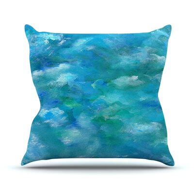 Ocean Waters by Rosie Brown Throw Pillow Size: 26 H x 26 W x 5 D
