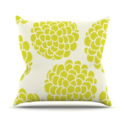 Grape Blossoms by Pom Graphic Throw Pillow Size: 18 H x 18 W x 3 D