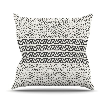Wind Day by Pom Graphic Throw Pillow Size: 18 H x 18 W x 3 D