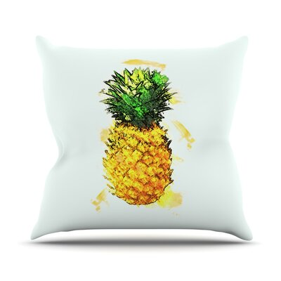 Slice of Summer by Oriana Cordero Throw Pillow Size: 18 H x 18 W x 3 D