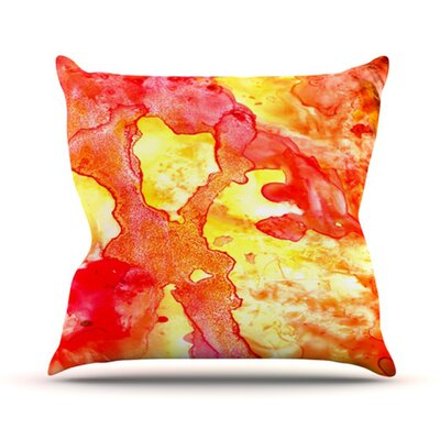 Hot Hot Hot Throw Pillow Size: 18 H x 18 W