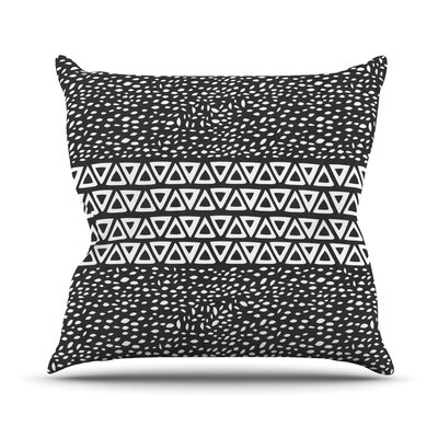 Wind Night by Pom Graphic Throw Pillow Size: 18 H x 18 W x 3 D