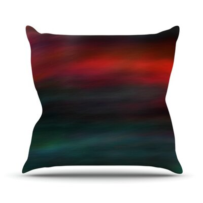 Haunted by Robin Dickinson Throw Pillow Size: 26 H x 26 W x 5 D