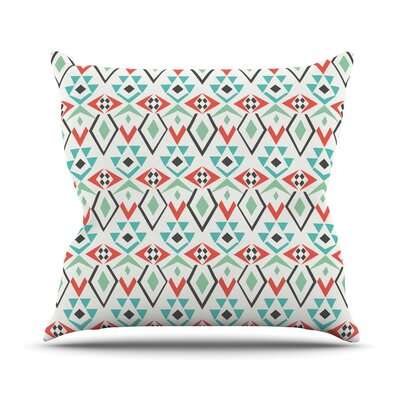 Tribal Marrakech by Pom Graphic Throw Pillow Size: 18 H x 18 W x 3 D