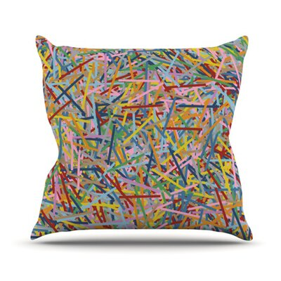 More Sprinkles Throw Pillow Size: 16 H x 16 W