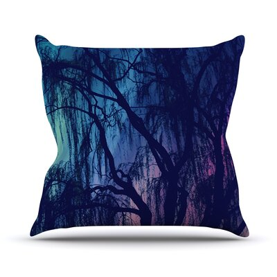 Weeping by Robin Dickinson Tree Throw Pillow Size: 26 H x 26 W x 5 D