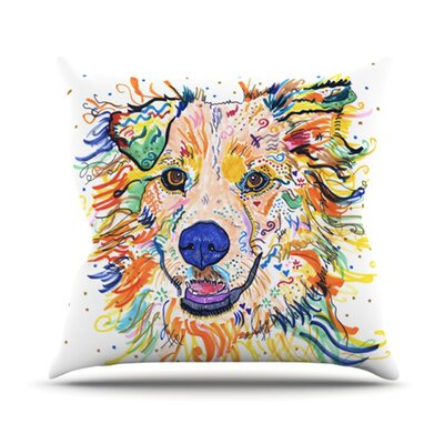 Jess Throw Pillow Size: 16 H x 16 W