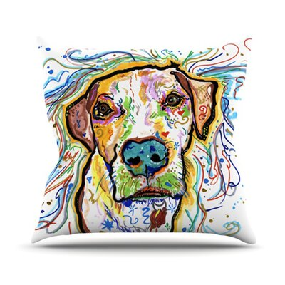 Ernie Throw Pillow Size: 18