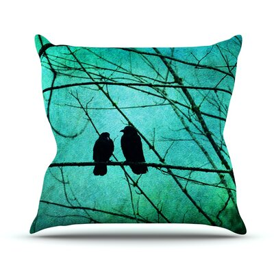Smitten by Robin Dickinson Throw Pillow Size: 20 H x 20 W x 4 D