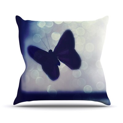 Enchanted by Robin Dickinson Butterfly Throw Pillow Size: 26 H x 26 W x 5 D
