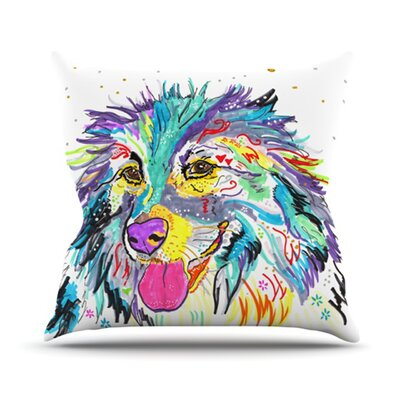 Daily Throw Pillow Size: 18 H x 18 W