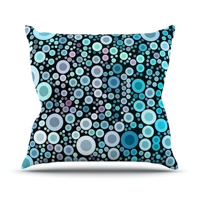 Aquatic by Sylvia Cook Throw Pillow Size: 18 H x 18 W x 3 D