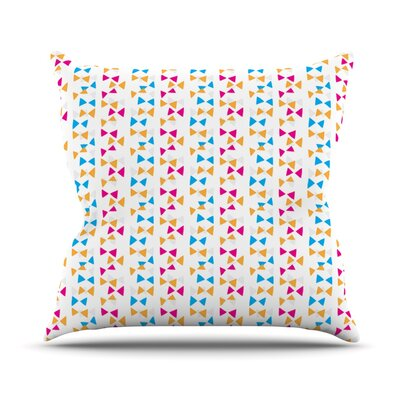 Lets Celebrate by Apple Kaur Designs Throw Pillow Size: 20 H x 20 W x 4 D