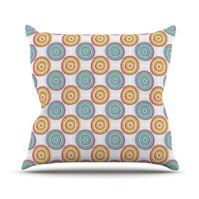 Bombay Dreams by Apple Kaur Designs Throw Pillow Size: 18 H x 18 W x 3 D