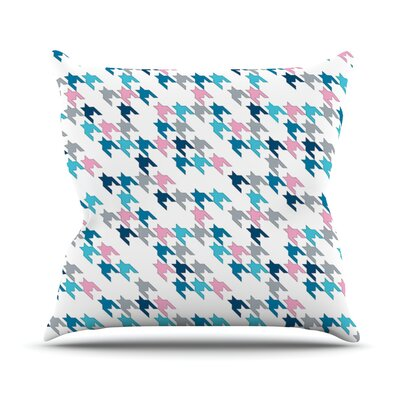 Tooth by Project M Throw Pillow Size: 16 H x 16 W x 3 D, Color: Pink