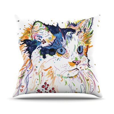 Sophia Throw Pillow Size: 16 H x 16 W