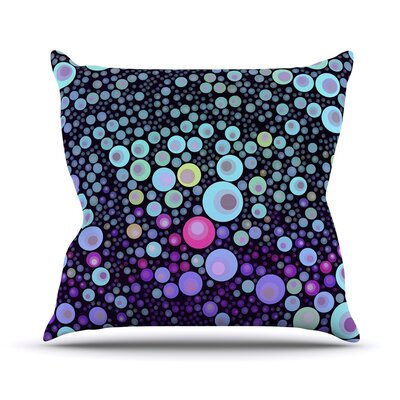 Deep by Sylvia Cook Throw Pillow Size: 20 H x 20 W x 4 D