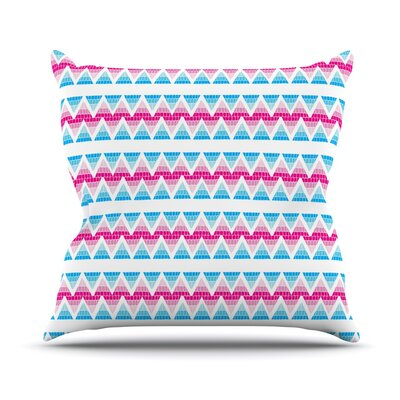 Swimming Pool Tiles by Apple Kaur Designs Throw Pillow Size: 26 H x 26 W x 5 D