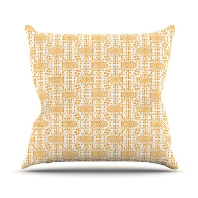 Diamonds by Apple Kaur Designs Throw Pillow Size: 16 H x 16 W x 3 D