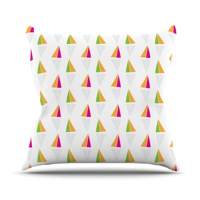 Apple Kaur Designs Throw Pillow Size: 20 H x 20 W x 4 D