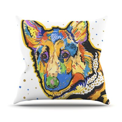 Floyd Throw Pillow Size: 18 H x 18 W