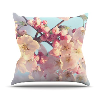 Waiting for Spring by Sylvia Cook Throw Pillow Size: 16 H x 16 W x 3 D