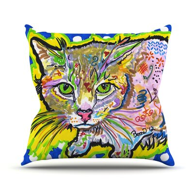 Abraham by Rebecca Fischer Throw Pillow Size: 18 H x 18 W x 3 D