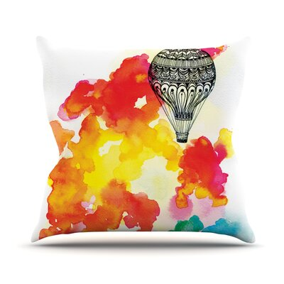 Come Away with Me by Sonal Nathwani Throw Pillow Size: 18 H x 18 W x 3 D