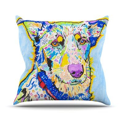Becca by Rebecca Fischer Rainbow Throw Pillow Size: 18 H x 18 W x 3 D