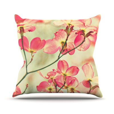 Morning Light Throw Pillow Size: 18 H x 18 W