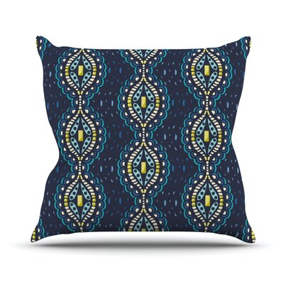 Ogee Lace by Suzie Tremel Throw Pillow Size: 26 H x 26 W x 5 D