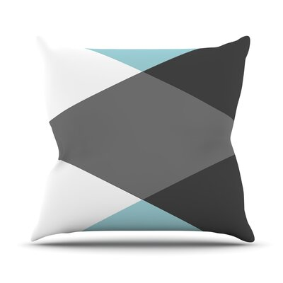 Diamonds by Suzanne Carter Throw Pillow Size: 18 H x 18 W x 3 D