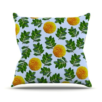 More Marigold by Sreetama Ray Throw Pillow Size: 26 H x 26 W x 5 D