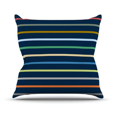 Tanak by Trebam Throw Pillow Size: 16 H x 16 W x 3 D