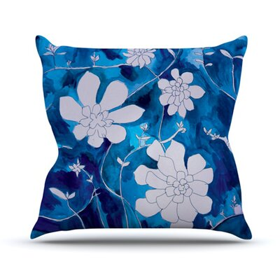 Succulent Dance 1 Throw Pillow Size: 18 H x 18 W