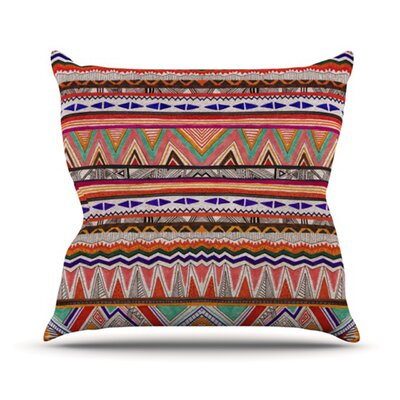 Native Tessellation Throw Pillow Size: 18 H x 18 W