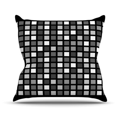 Plocica by Trebam Grid Throw Pillow Size: 18 H x 18 W x 3 D