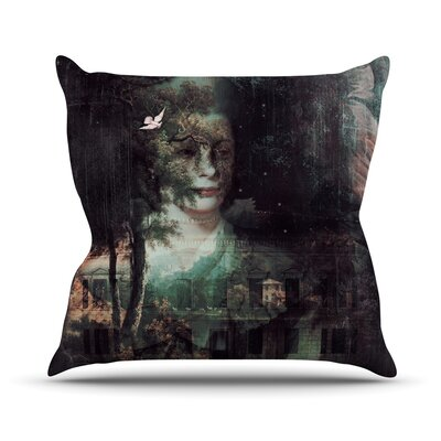 Lady Grace by Suzanne Carter Throw Pillow Size: 18 H x 18 W x 3 D